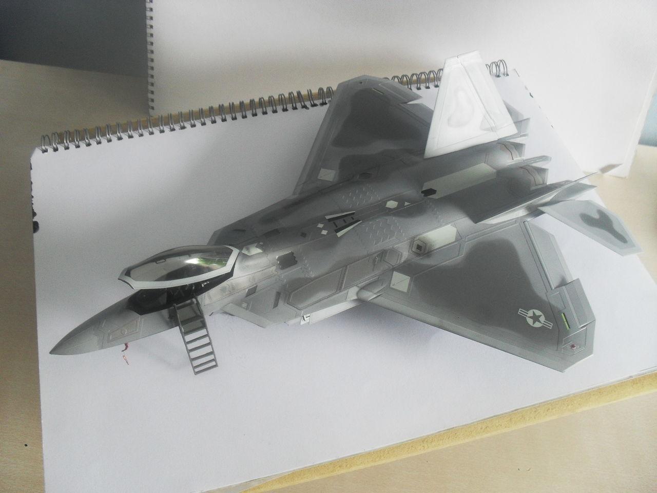 "F/A-22A  1/48  Hasegawa...""σε οσους αρεσουμε, για τους αλλους δεν θα μπορεσουμε!!!"" SDC13384"