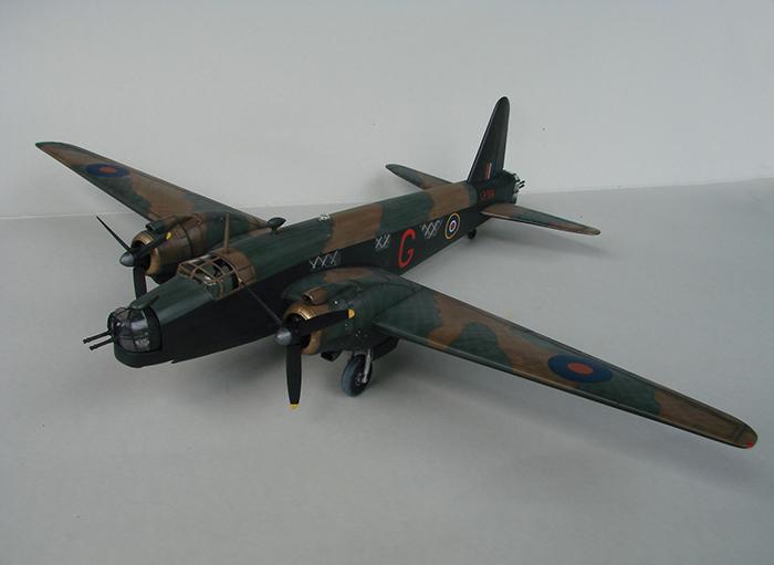 Vickers Wellington Mk.X, Revell, 1/72 DSC04673