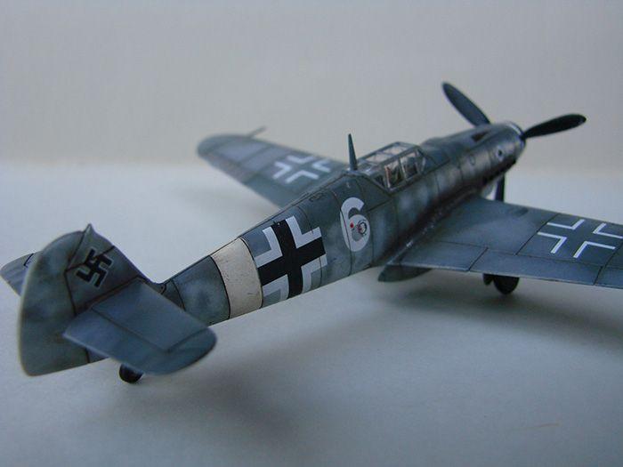 Messerschmitt Bf-109G-6, Airfix, 1/72 DSC05056