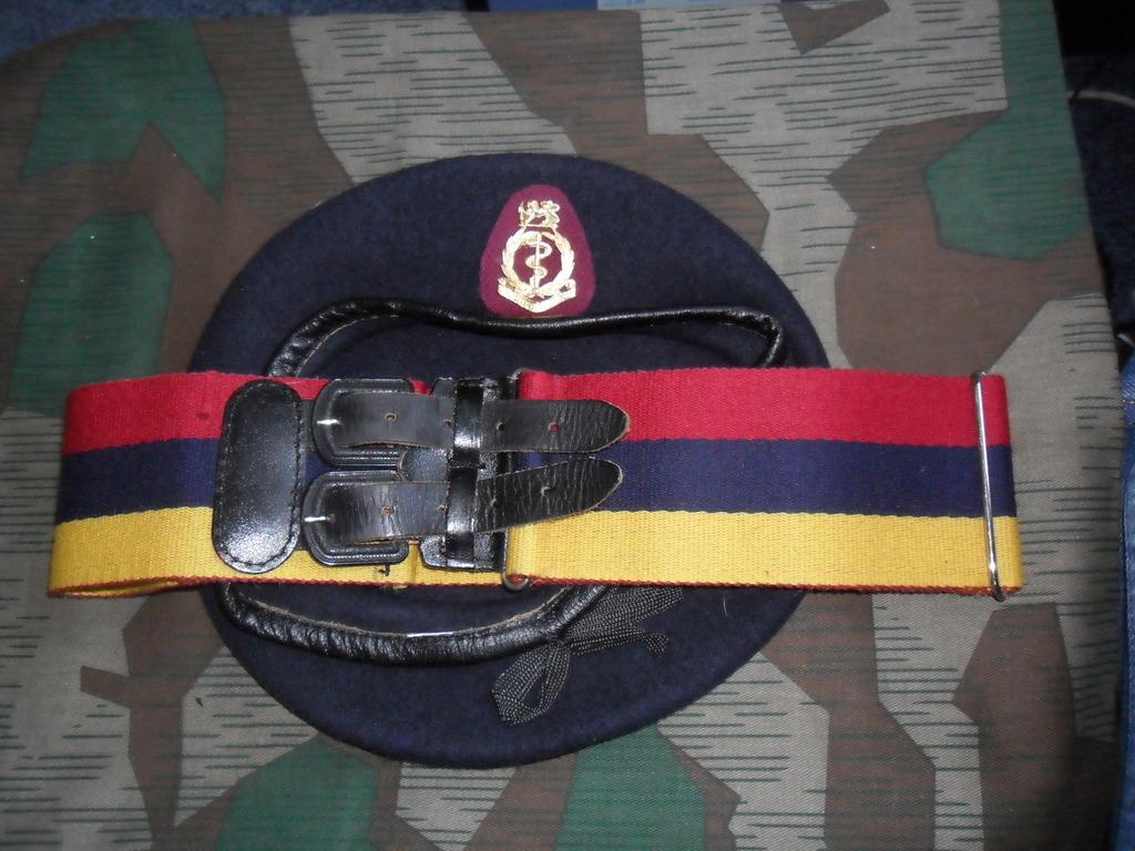 Rhodesian Belts and Berets Medical_Corps