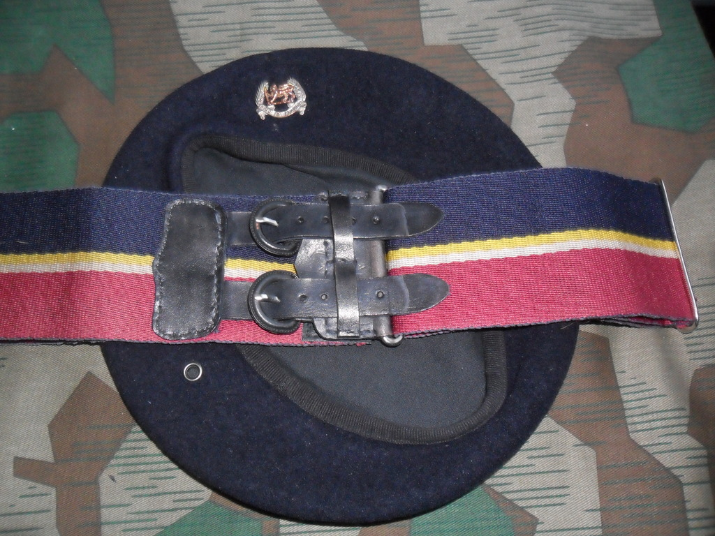Rhodesian Belts and Berets Pay_Corps_Officer