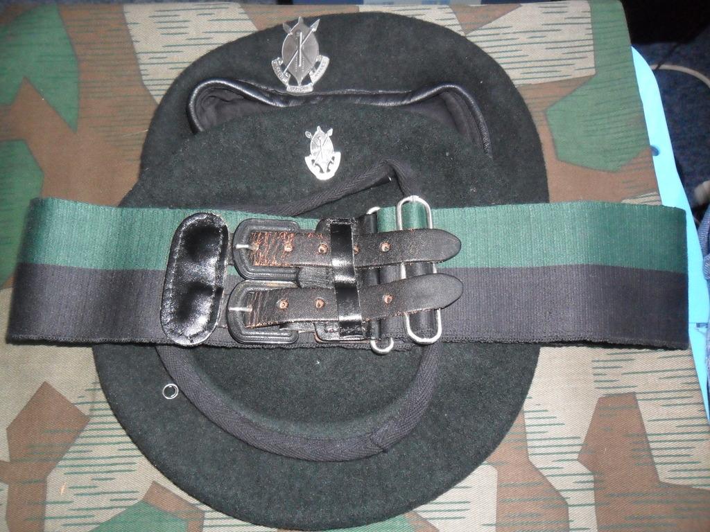 Rhodesian Belts and Berets RAR