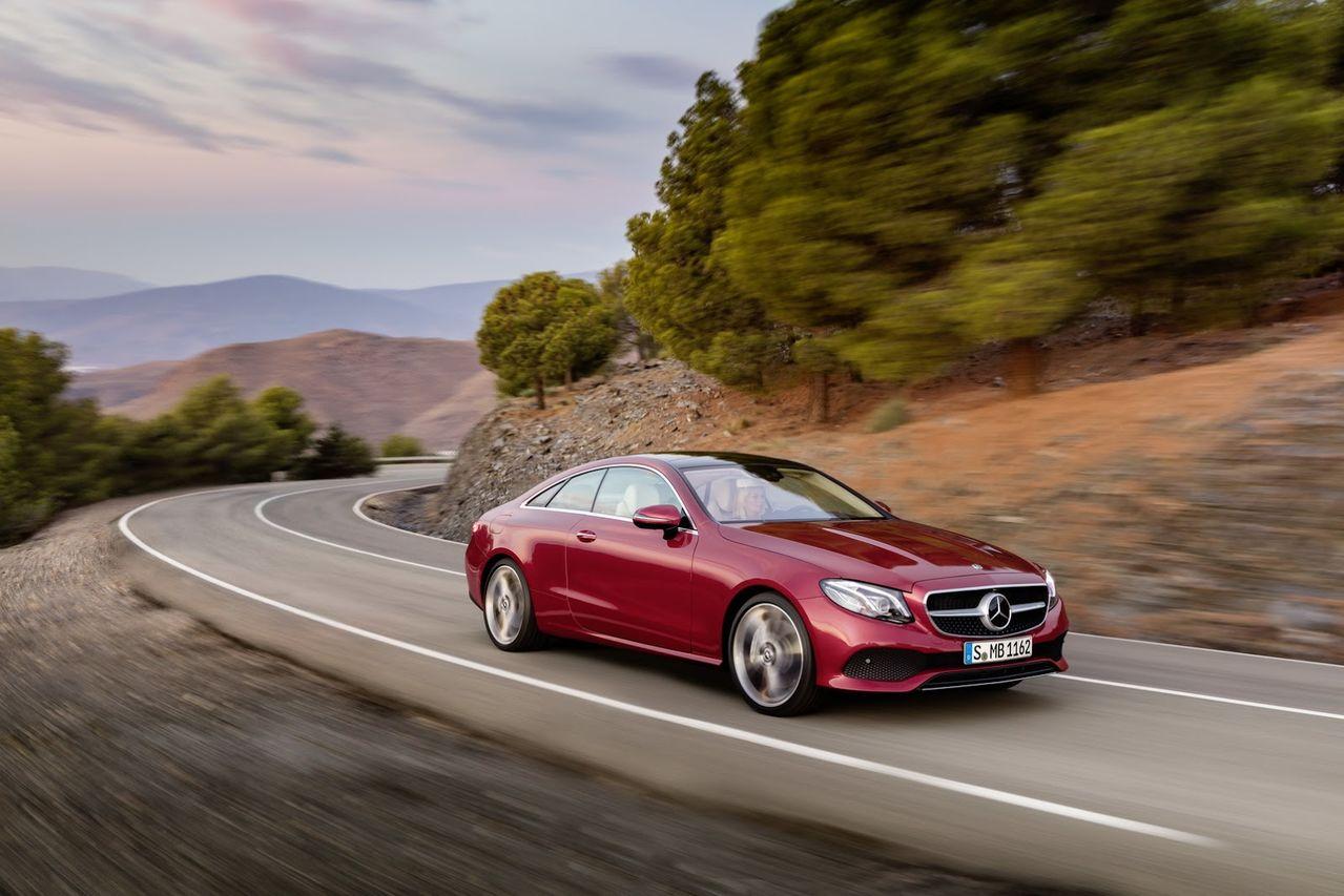 Nova Classe E Coupé 2018 é revelada 2018_Mercedes_E_Class_Coupe_1