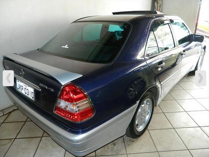 W202 C180 1998 - R$ 35.000,00 C180c