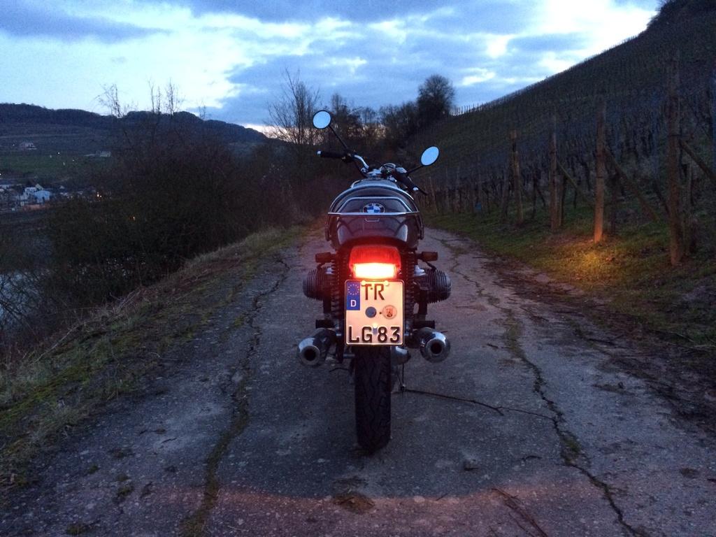La R100S roadster brut de loiclux Image