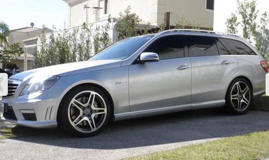 W211 E63 AMG Touring 2010 - R$280.000,00 Farmville