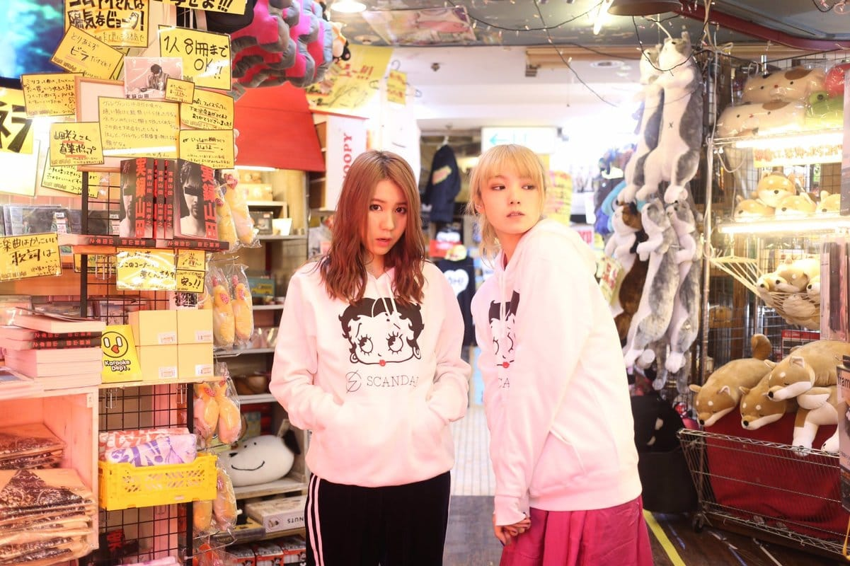 SCANDAL × Village Vanguard Collaboration Goods C5_E7a_WRVc_AADHk