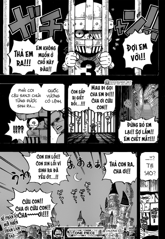 One Piece Chapter 840: Mặt nạ sắt Image