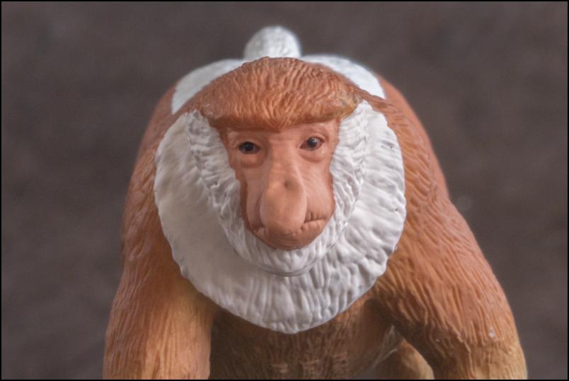The MOJÖ FUN Proboscis monkey: A walkaround by Kikimalou Proboscismonkey_MOJO-16.jpg_original