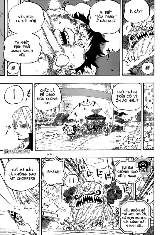 One Piece Chapter 843: Vinsmoke Sanji 010