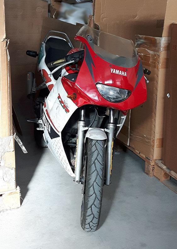 Yamaha TZR80RR al rescate Front