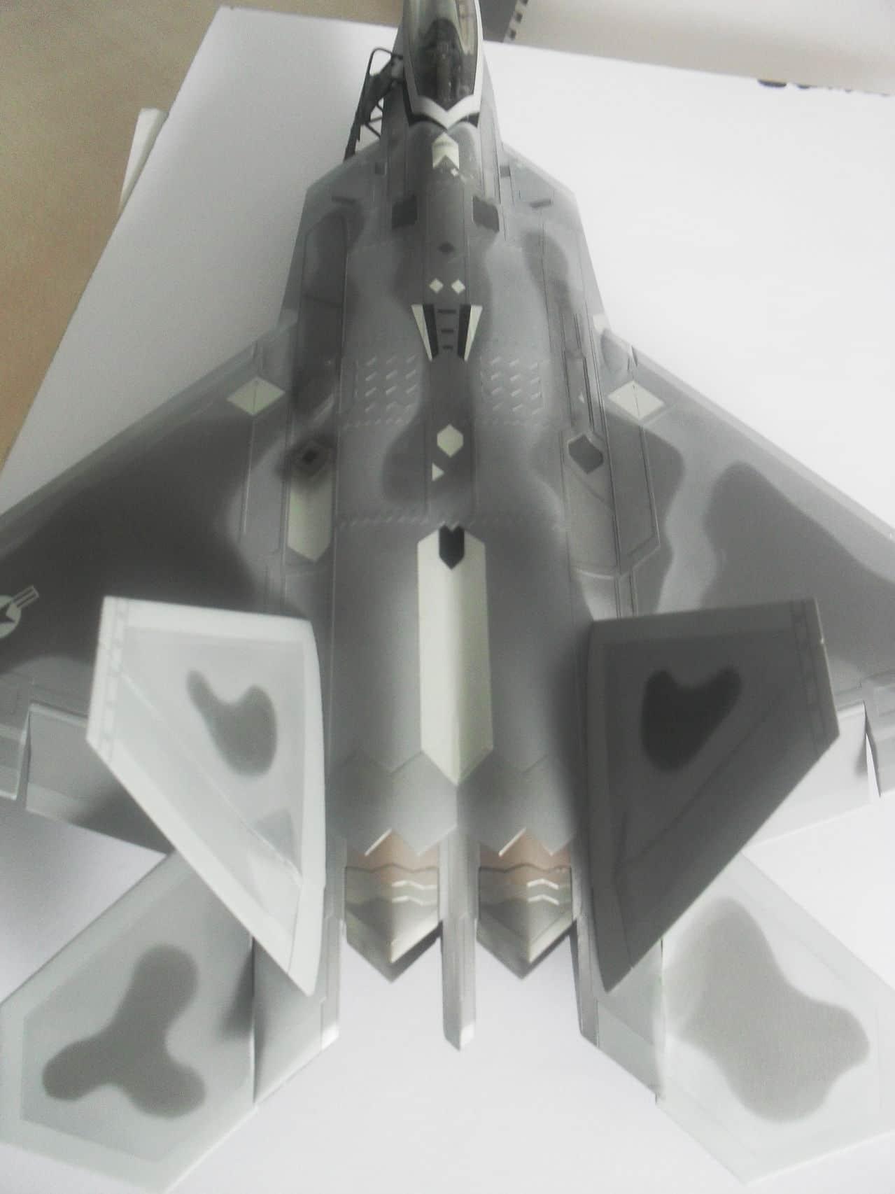 "F/A-22A  1/48  Hasegawa...""σε οσους αρεσουμε, για τους αλλους δεν θα μπορεσουμε!!!"" SDC13385"