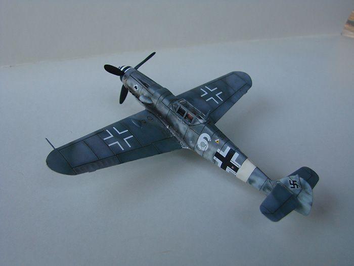 Messerschmitt Bf-109G-6, Airfix, 1/72 DSC05050