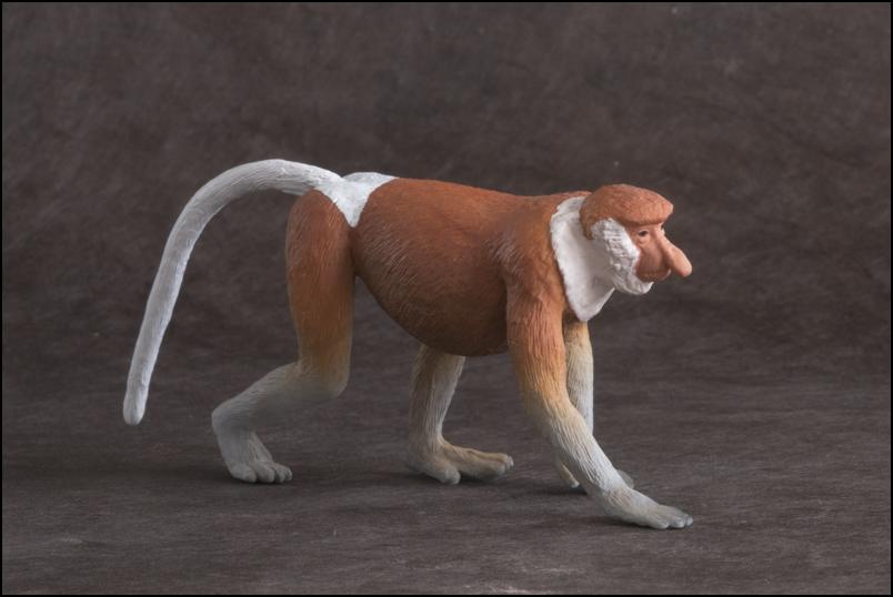 The MOJÖ FUN Proboscis monkey: A walkaround by Kikimalou Proboscismonkey_MOJO-11.jpg_original