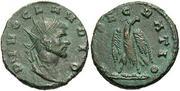 Antoniniano de Claudio II. CONSECRATIO. Águila estante mirando a izq.  Z6776