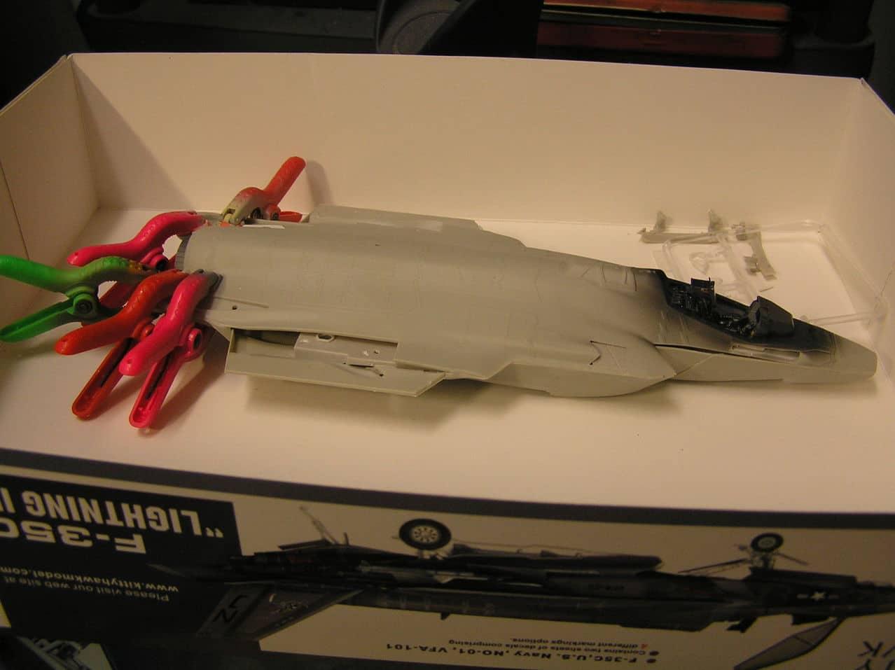"F-35C  1/48 ... H  ""αεροπλαναρα""  !!! P1010036_2"