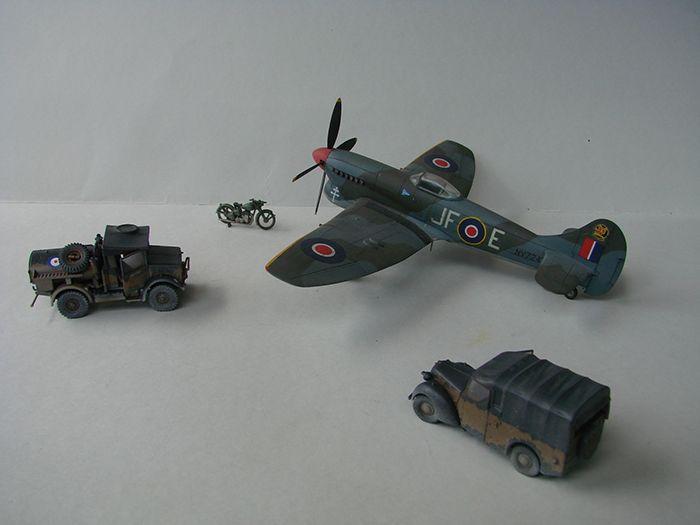 RAF Wehicle Set, 1/72, Airfix DSC04908