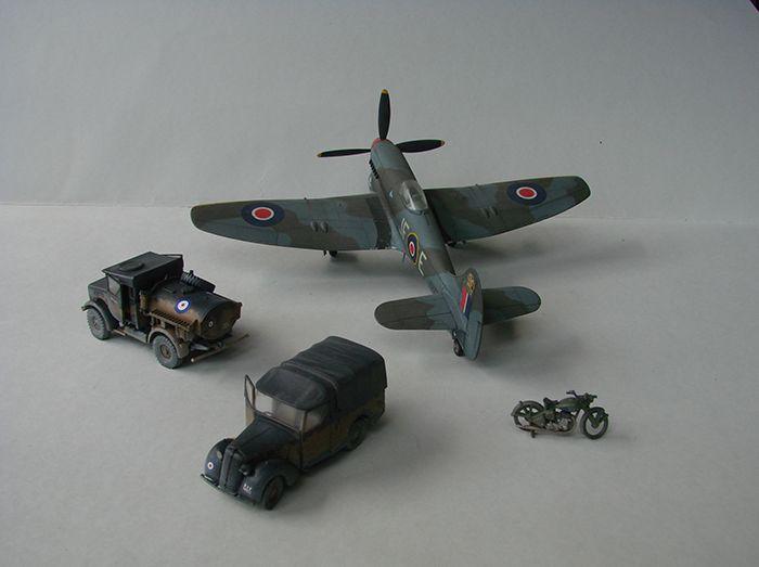 RAF Wehicle Set, 1/72, Airfix DSC04910