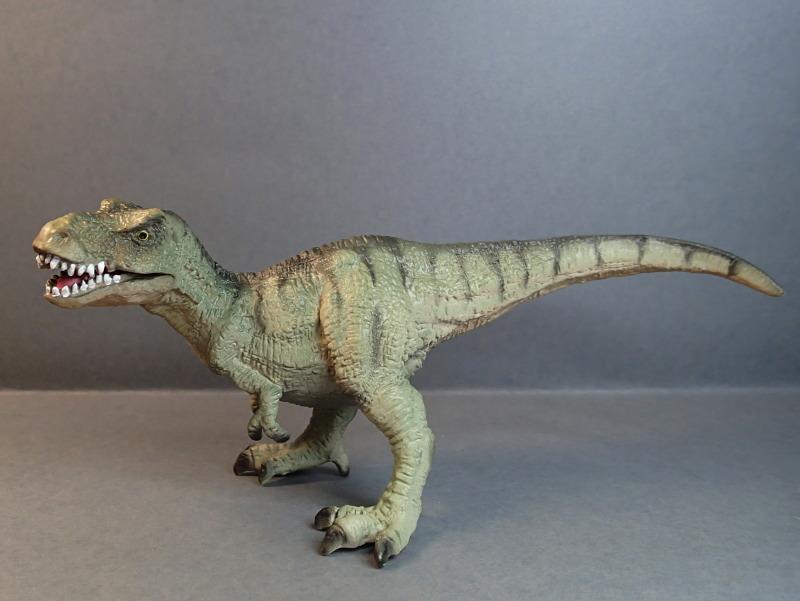 Two new medium sized Bullyland  Museum Line models 2016 : T-Rex and Liopleurodon, walk arounds Bully61448_zpsoh67lyzj