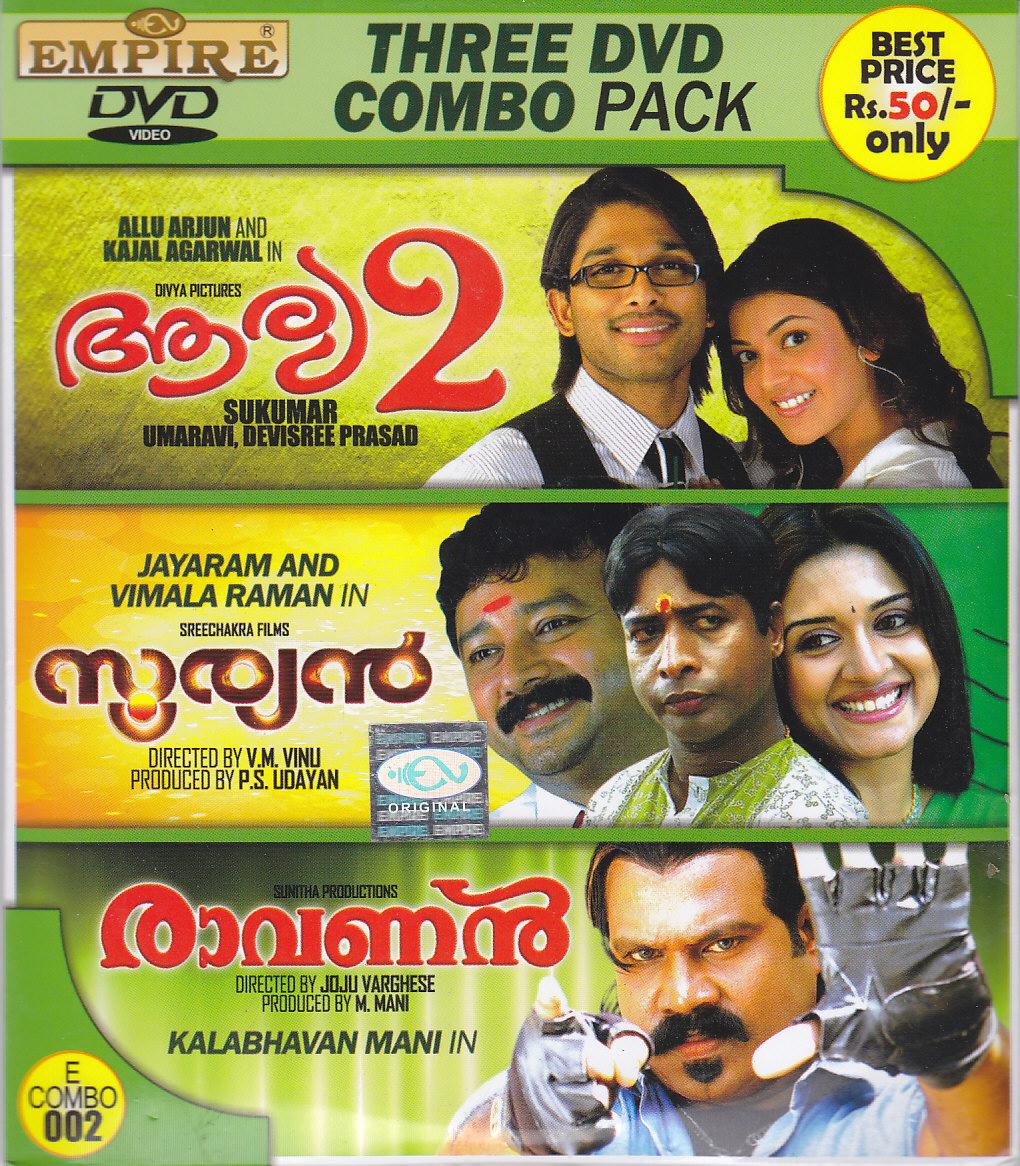 New Malayalam Blu Ray/DVD/ VCD Releases - Page 7 E3_DVDPK2_Arya_Sooryan_Ravanan