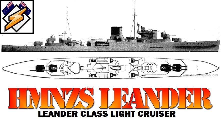 Taskforce44 Dream Boat File #0001 - HMNZS Leander HMNZS_Leander
