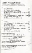 Elma Sinanovic - Diskografija Kaseta_Zadnja