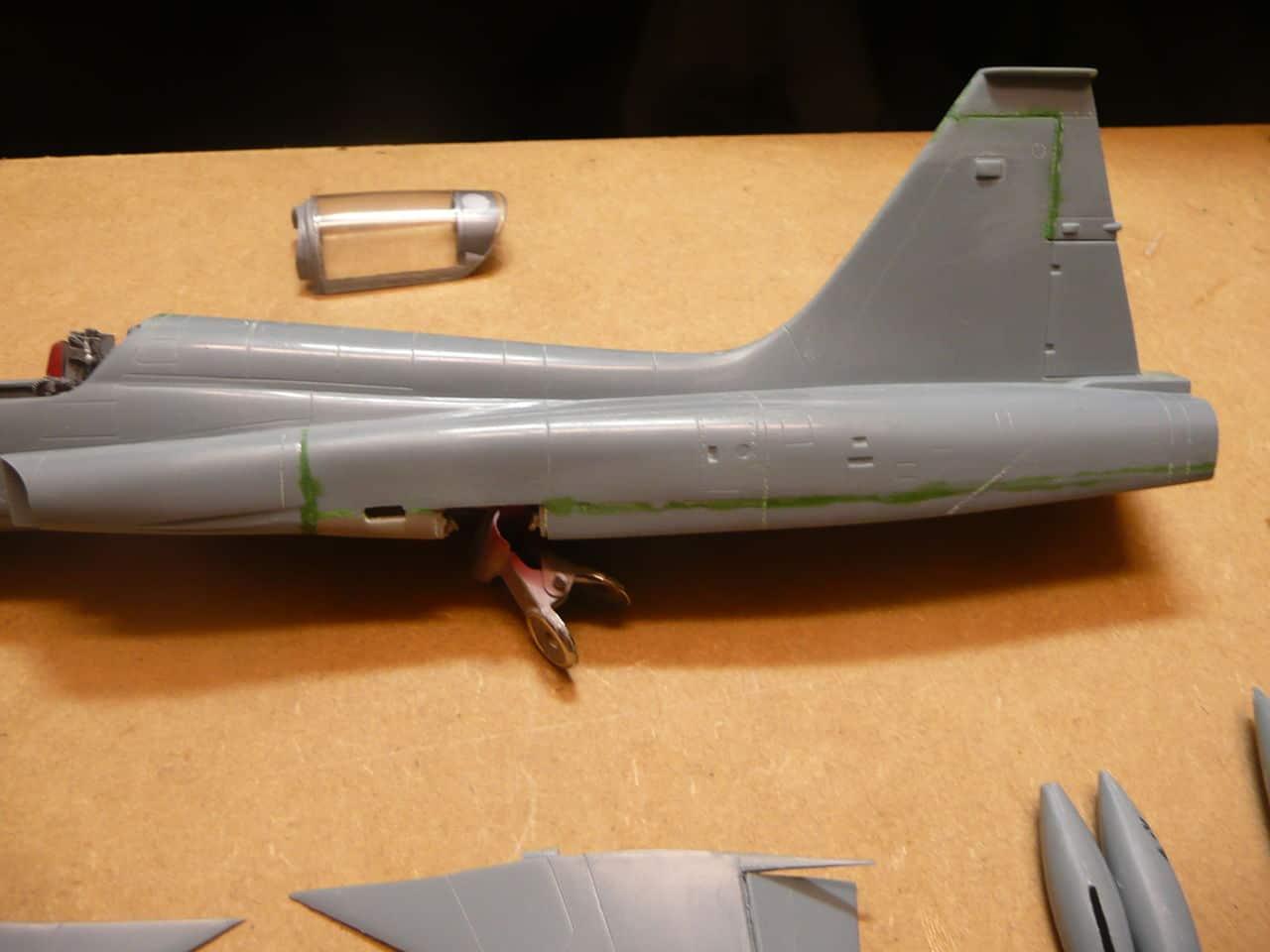Northrop F-5B 1/48 Classic Airframes P1070960