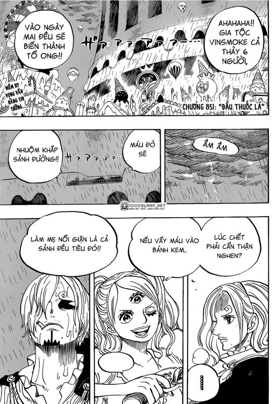 One Piece Chapter 851: Đầu thuốc lá. Image