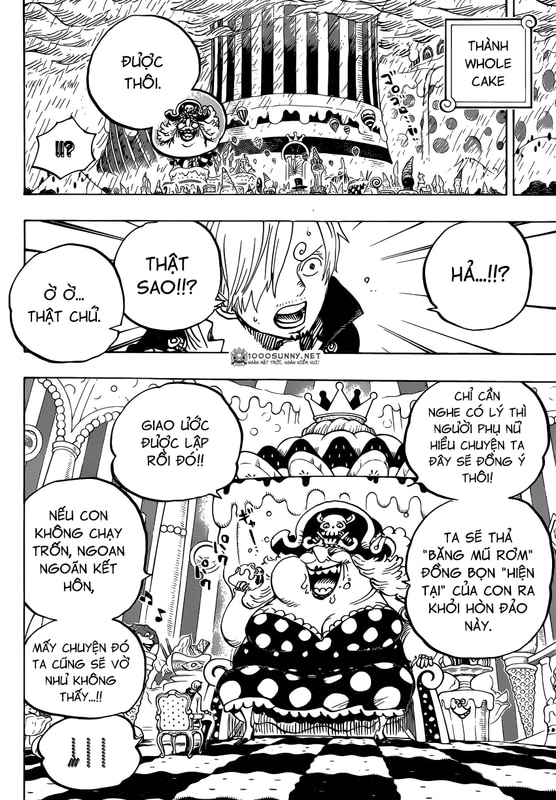 [Thảo luận] One Piece Chapter 846: Sự phòng bị của Tamago. Image