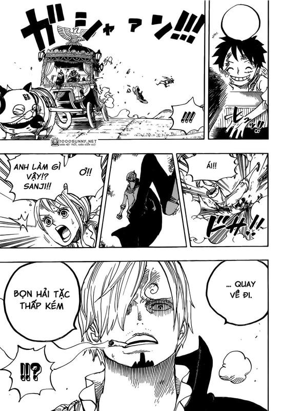 One Piece Chapter 843: Vinsmoke Sanji 016