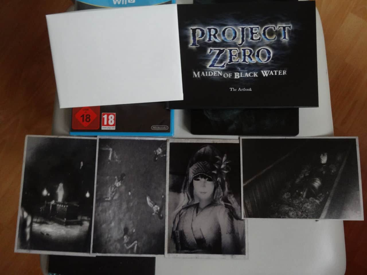 Project Zero Collector Wii U DSC02388