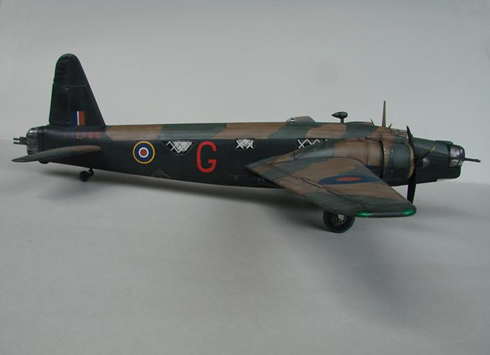 Vickers Wellington Mk.X, Revell, 1/72 DSC04671