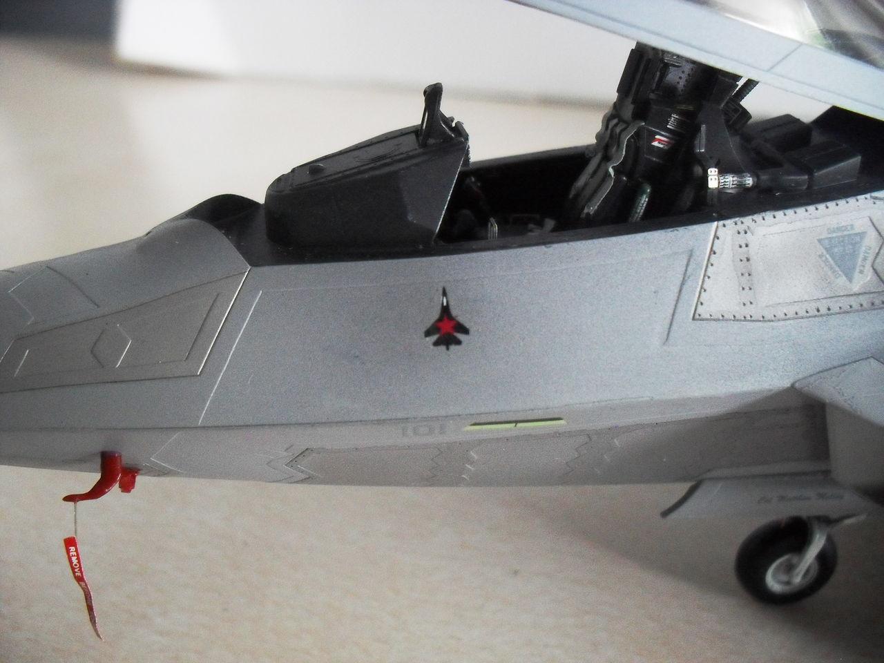 "F/A-22A  1/48  Hasegawa...""σε οσους αρεσουμε, για τους αλλους δεν θα μπορεσουμε!!!"" SDC13378"