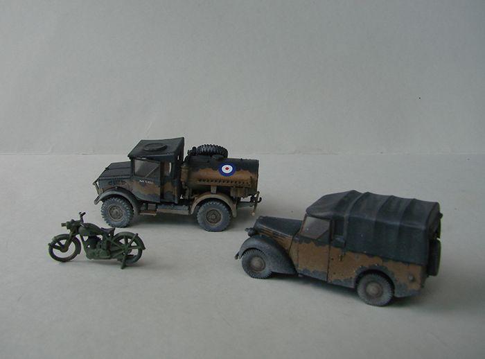 RAF Wehicle Set, 1/72, Airfix DSC04905