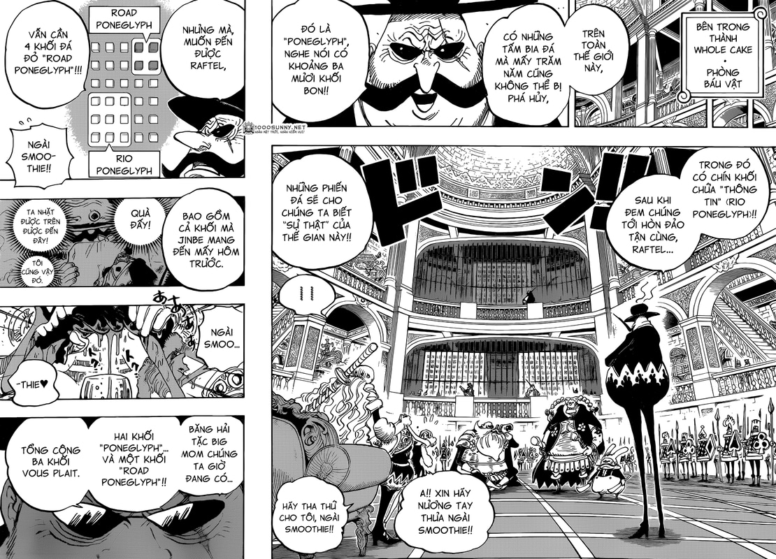 [Thảo luận] One Piece Chapter 846: Sự phòng bị của Tamago. 12_13