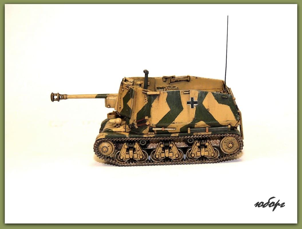 САУ 7.5cm PaK 401(Sf) auf Geschutzwagen 39H(f). 1/72 Image