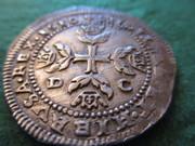 Medio Escudo Felipe III Messina (Sicilia) 1610 DC Medio_Escudo_Felipe_III_1610_Sicilia_8