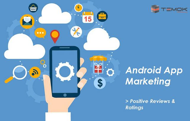 5 Star Ratings | Cheap Android App Marketing From TEMOK Starting at $69/Month Android_App_Marketing