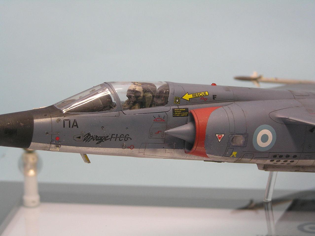 Ελληνικό Mirage F-1CG  1/48  - Σελίδα 2 P1010009