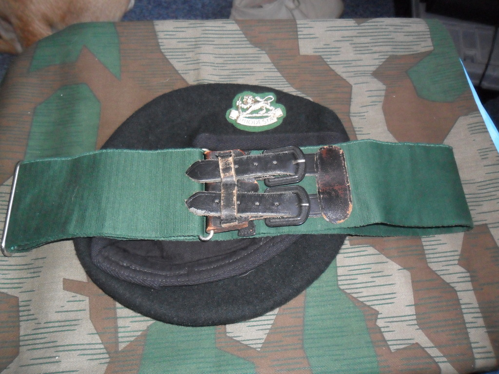 Rhodesian Belts and Berets RDR