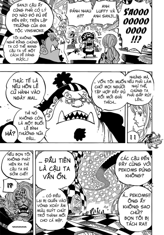 One Piece Chapter 856: Dối Trá. Image