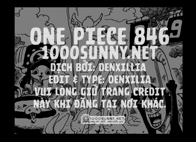 [Thảo luận] One Piece Chapter 846: Sự phòng bị của Tamago. Credit