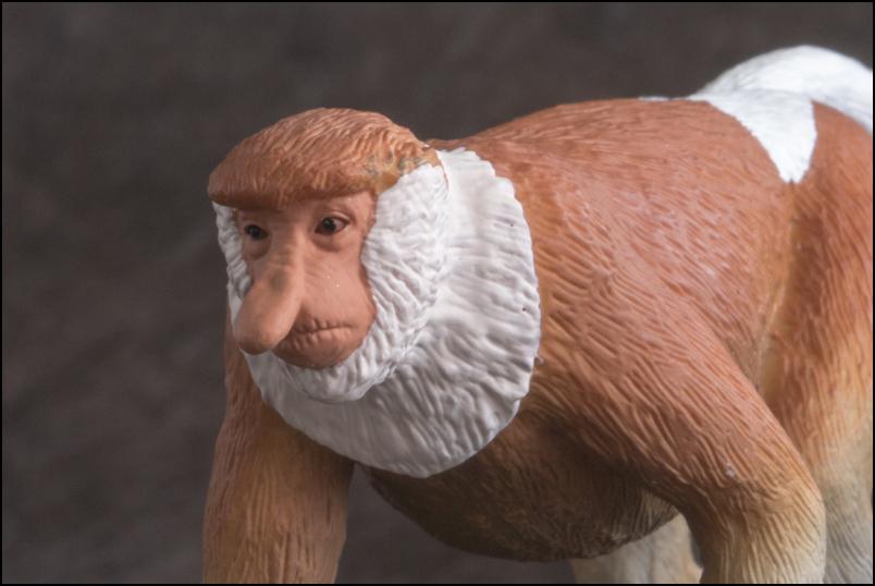 The MOJÖ FUN Proboscis monkey: A walkaround by Kikimalou Proboscismonkey_MOJO-14.jpg_original