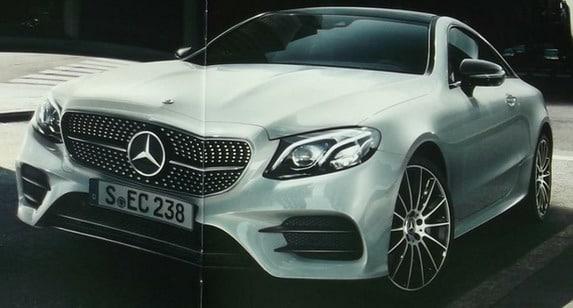 Nova Classe E Coupé 2018 é revelada Mercedes_e_711