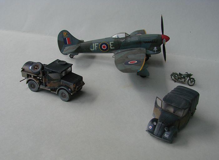 RAF Wehicle Set, 1/72, Airfix DSC04911
