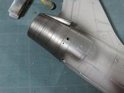 Avion - F-8E FN (P) Crusader, Hasegawa 1/48 DSCN5721
