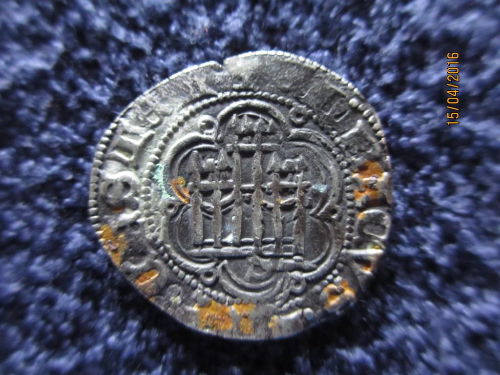 Blanca de Enrique III de Castilla 1390-1406 Sevilla. IMG_0220
