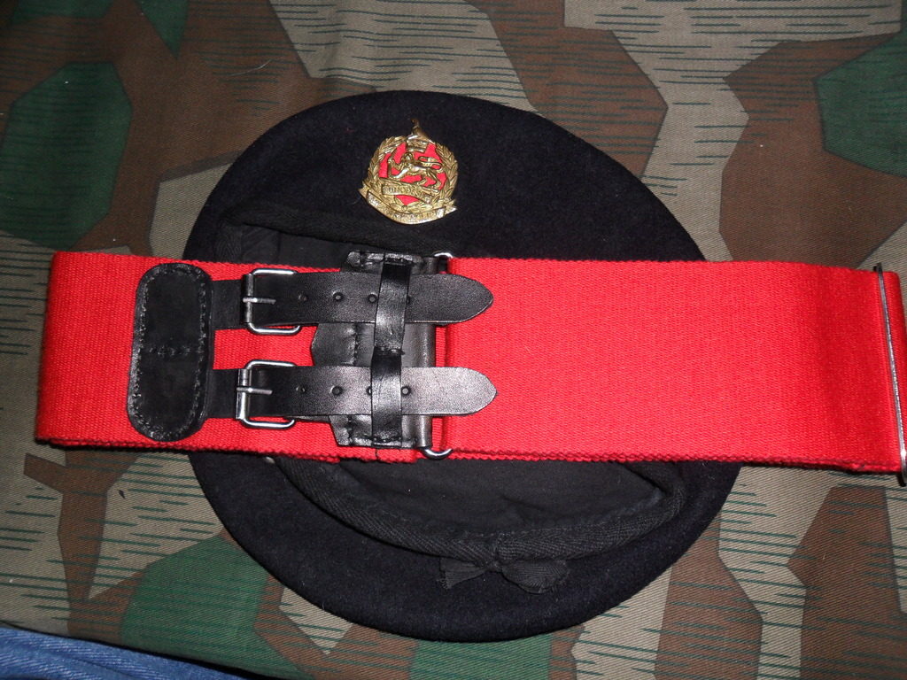 Rhodesian Belts and Berets Corps_of_Military_Police