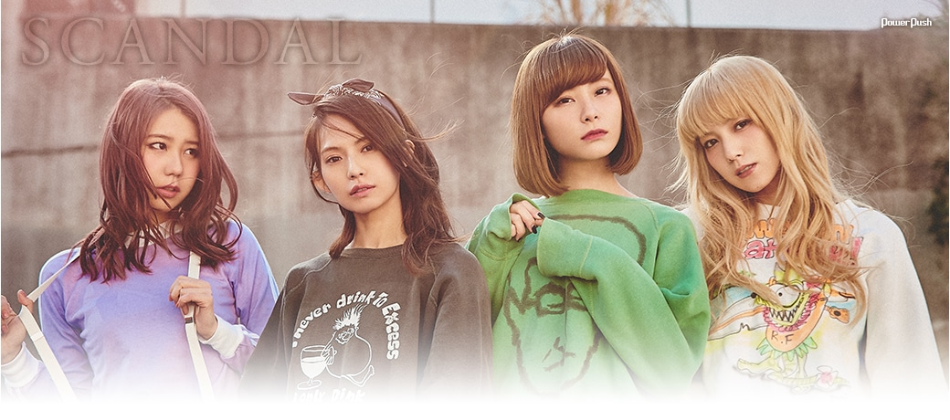 Music Natalie - SCANDAL's Best Album Interview Header_bg