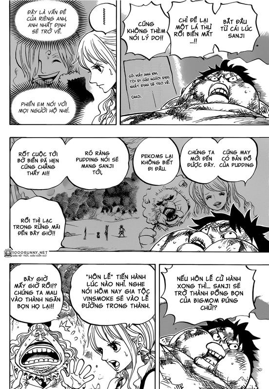 One Piece Chapter 843: Vinsmoke Sanji 009